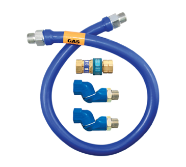 Dormont Manufacturing Manufacturing 16125BPQ2S24 Dormont Blue Hose™ Moveable Gas Connector Hose