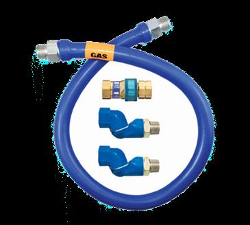 Dormont Manufacturing Manufacturing 16125BPQ2S48 Dormont Blue Hose™ Moveable Gas Connector Hose