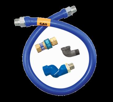 Dormont Manufacturing Manufacturing 16125BPQS60 Dormont Blue Hose™ Moveable Gas Connector Hose