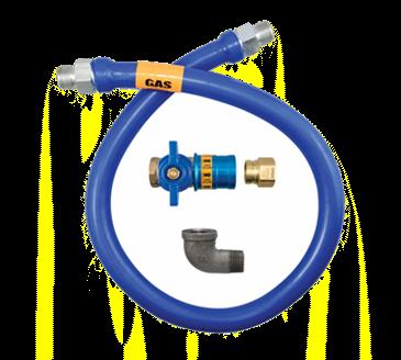 Dormont Manufacturing Manufacturing 1650BPCF48BX Dormont Blue Hose™ Moveable Gas Connector Hose
