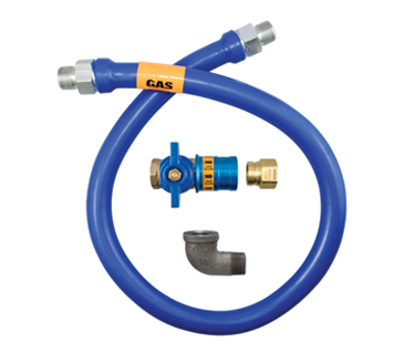 Dormont Manufacturing Manufacturing 1650BPCF72 Dormont Blue Hose™ Moveable Gas Connector Hose