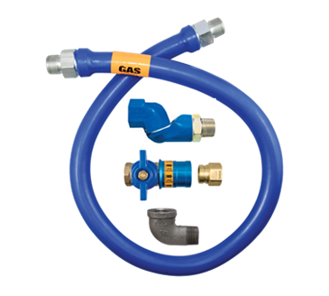 Dormont Manufacturing Manufacturing 1650BPCFS60 Dormont Blue Hose™ Moveable Gas Connector Hose