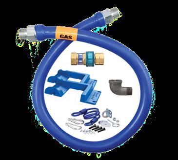 Dormont Manufacturing Manufacturing 1650BPQR48BXPS Dormont Blue Hose™ Moveable Gas Connector