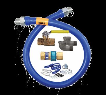 Dormont Manufacturing Manufacturing 1650KIT60 Dormont Blue Hose™ Moveable Gas Connector Kit