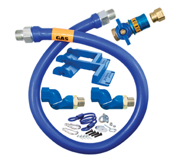 Dormont Manufacturing Manufacturing 1650KITCF2S48PS Dormont Blue Hose™ Moveable Gas Connector Kit