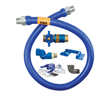 Dormont Manufacturing Manufacturing 1650KITCFS36PS Dormont Blue Hose™ Moveable Gas Connector Kit