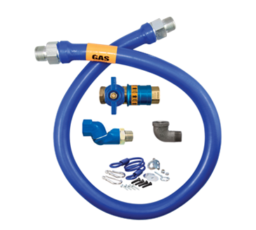 Dormont Manufacturing Manufacturing 1650KITCFS72 Dormont Blue Hose™ Moveable Gas Connector Kit
