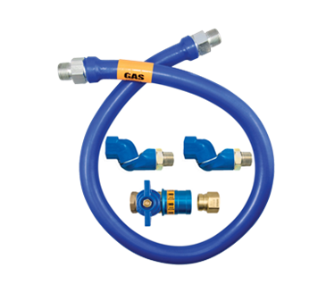 Dormont Manufacturing Manufacturing 1675BPCF2S24 Dormont Blue Hose™ Moveable Gas Connector Hose