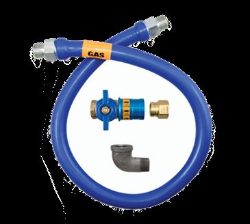 Dormont Manufacturing Manufacturing 1675BPCF48 Dormont Blue Hose™ Moveable Gas Connector Hose