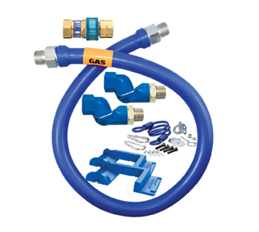 Dormont Manufacturing Manufacturing 1675BPQ2SR36BXPS Dormont Blue Hose™ Moveable Gas Connector Hose