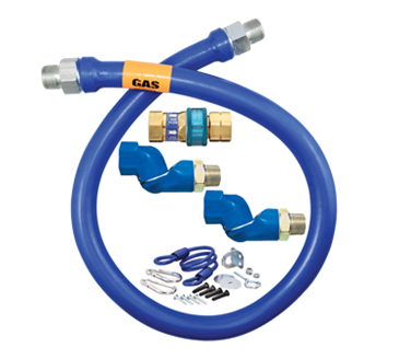 Dormont Manufacturing Manufacturing 1675BPQ2SR48 Dormont Blue Hose™ Moveable Gas Connector Hose