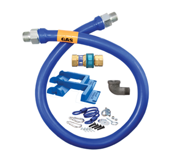 Dormont Manufacturing Manufacturing 1675BPQR48PS Dormont Blue Hose™ Moveable Gas Connector