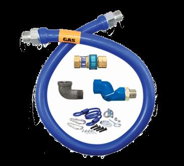 Dormont Manufacturing Manufacturing 1675BPQSR48 Dormont Blue Hose™ Moveable Gas Connector Hose