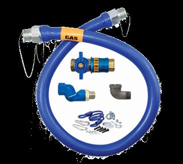 Dormont Manufacturing Manufacturing 1675KITCFS36 Dormont Blue Hose™ Moveable Gas Connector Kit