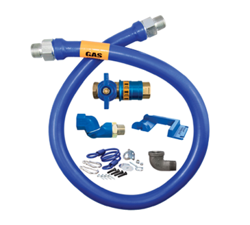 Dormont Manufacturing Manufacturing 1675KITCFS48PS Dormont Blue Hose™ Moveable Gas Connector Kit