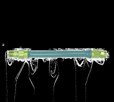 Dormont Manufacturing Manufacturing W50BP72 Dormont Hi-PSI® Water Connector Hose