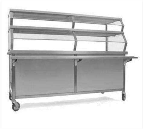 Eagle Group DCS4-STURB Director's Choice Solid Top Serving Unit with