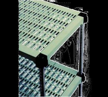Eagle Group A4-74S-L1836PM LIFESTOR Polymer Shelving