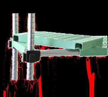 Eagle Group L1830PSM LIFESTOR Polymer Shelf
