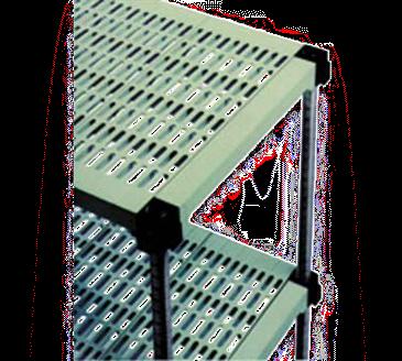 Eagle Group S4-63Z-L1842PM LIFESTOR Polymer Shelving
