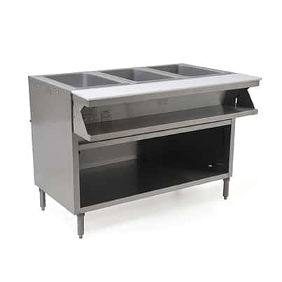 Eagle Group Group SHT3CB-120 Spec-Master® Sealed Well Hot Food Table