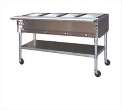 Eagle Group SPDHT4-208-3 Portable Hot Food Table