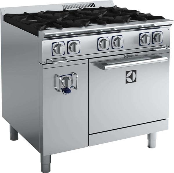 Electrolux Professional 169135 (ACFG36T) EMPower Restaurant Range