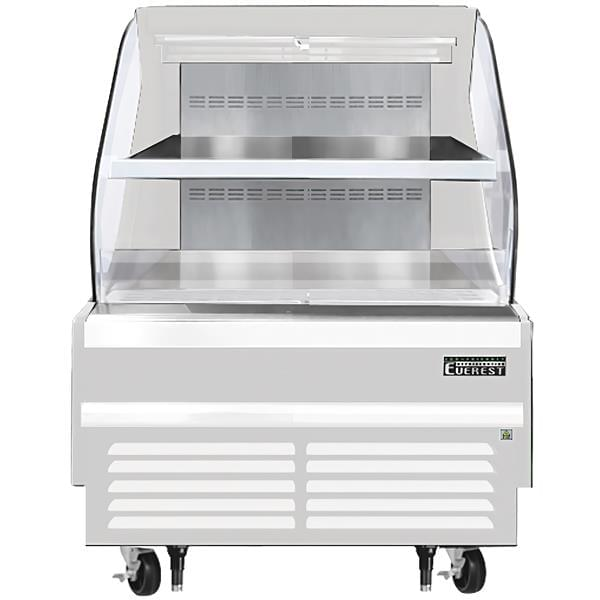 Everest Refrigeration Refrigeration EOMH-36-W-35-T 37.25'' Air Curtain Open Display Merchandiser with