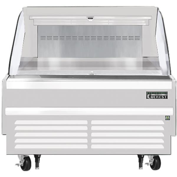 Everest Refrigeration Refrigeration EOMH-48-W-35-S 48.00'' Air Curtain Open Display Merchandiser with