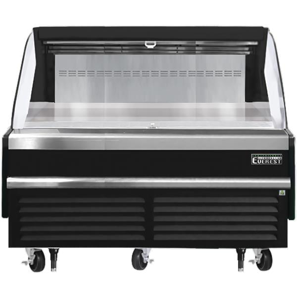 Everest Refrigeration Refrigeration EOMH-60-B-35-S 60.00'' Air Curtain Open Display Merchandiser with