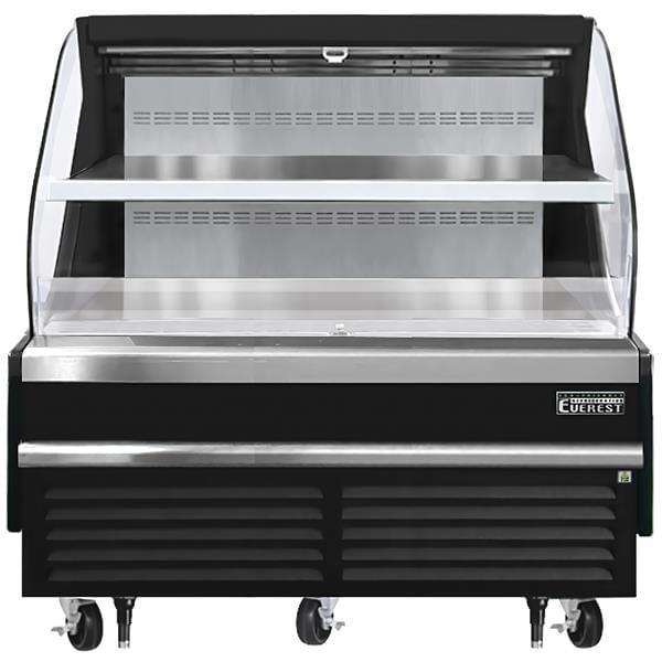 Everest Refrigeration Refrigeration EOMH-60-B-35-T 60.00'' Air Curtain Open Display Merchandiser with
