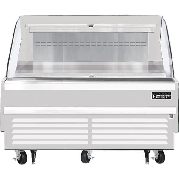 Everest Refrigeration Refrigeration EOMH-60-W-35-S 60.00'' Air Curtain Open Display Merchandiser with