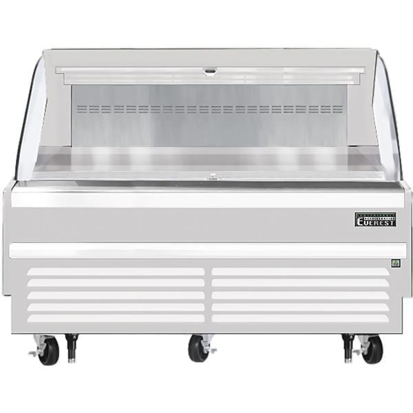 Everest Refrigeration Refrigeration EOMH-72-W-35-S 73.25'' Air Curtain Open Display Merchandiser with