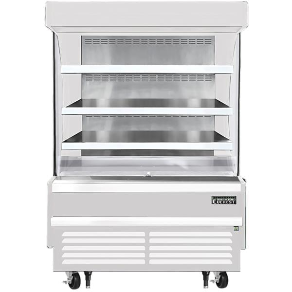 Everest Refrigeration Refrigeration EOMV-48-W-28-S 48.00'' Air Curtain Open Display Merchandiser with