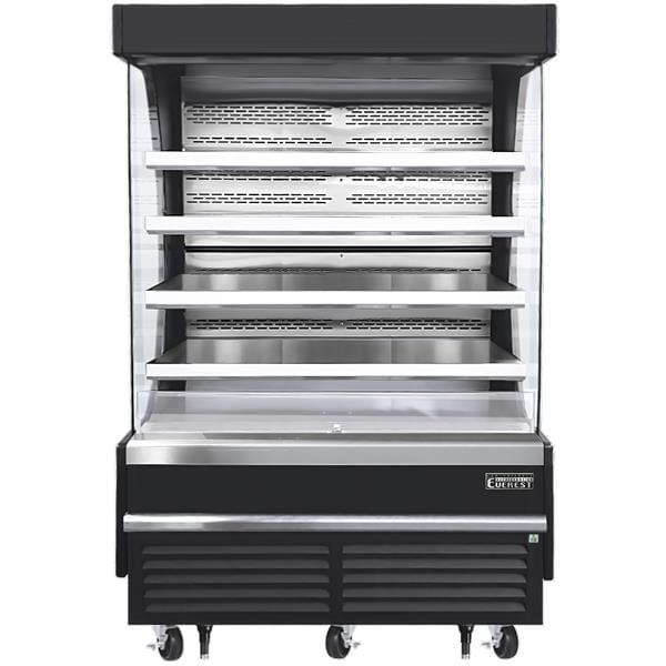 Everest Refrigeration Refrigeration EOMV-60-B-35-T 60.00'' Air Curtain Open Display Merchandiser with