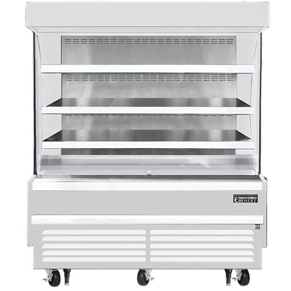 Everest Refrigeration Refrigeration EOMV-60-W-28-S 60.00'' Air Curtain Open Display Merchandiser with