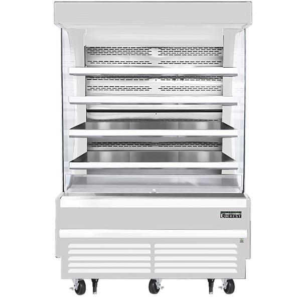 Everest Refrigeration Refrigeration EOMV-60-W-28-T 60.00'' Air Curtain Open Display Merchandiser with