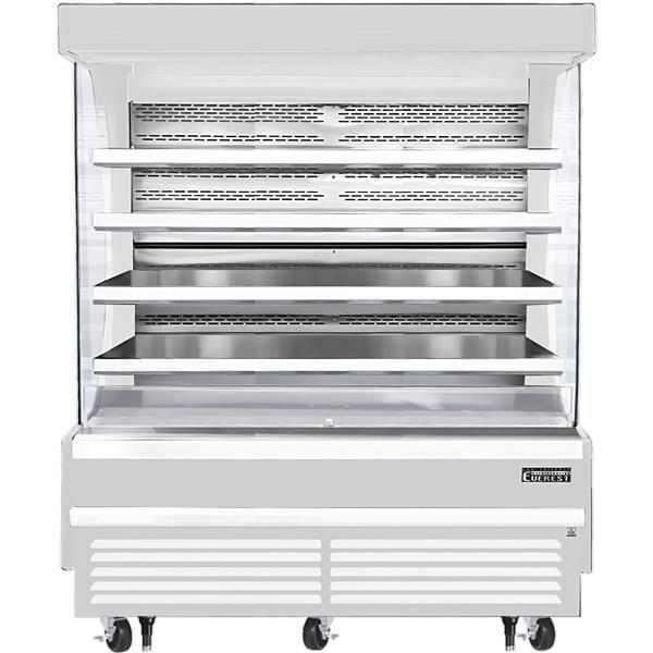 Everest Refrigeration Refrigeration EOMV-72-W-28-T 73.25'' Air Curtain Open Display Merchandiser with