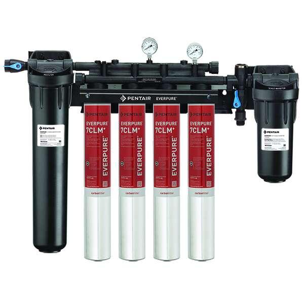 Everpure EV977134 High Flow CSR Quad-7CLM+ Fountain Filtration