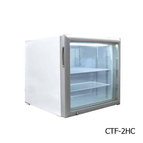 Excellence CTF-2HC Countertop Display Merchandiser Freezer/Ice Cream Freezer