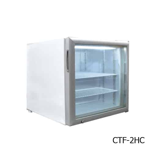 Excellence CTF-2HCMS Countertop Display Merchandiser Freezer/Ice Cream Freezer
