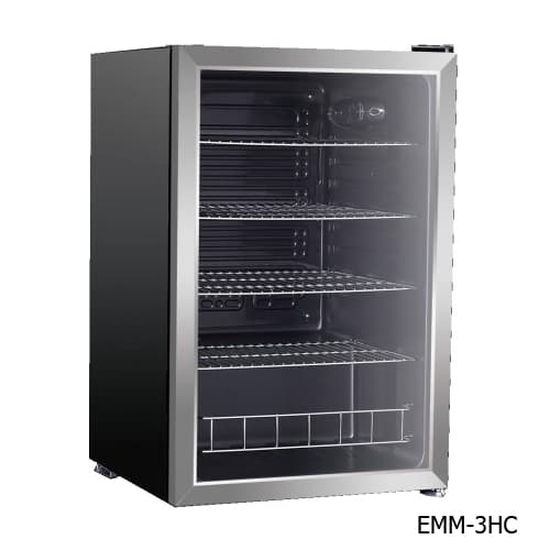 Excellence EMM-4HC Countertop Beverage & Food Cooler - Stainless Door (Available 1st Quarter 2018)