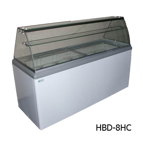 Excellence HBD-4HC Ice Cream  Dipping Cabinet with LED
