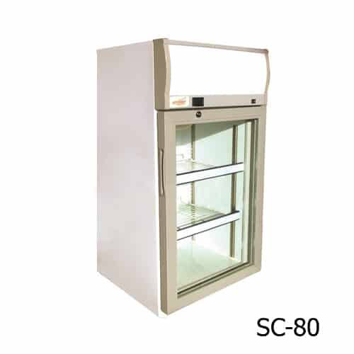 Excellence SC-80 Countertop Display Cooler with Light