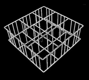 Fagor Dishwashing R1616-9 Rack Insert