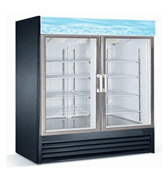 Falcon Food Service Equipment AGM-53 53.13'' Section Refrigerated Glass Door Merchandiser