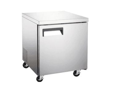 Falcon Food Service Equipment AUC-27 27'' 1 Section Undercounter Refrigerator with 1 Right Hinged Solid Door and Side / Rear Breathing Compressor