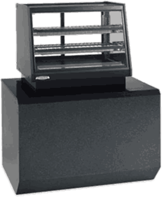 Federal Industries ERR-4828SS Elements Counter Top Self-Serve Refrigerated Rear Mount Merchandiser