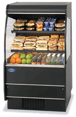 Federal Industries RSSM-660SC Specialty Display High Profile Self-Serve Refrigerated Merchandiser