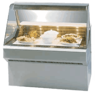 Federal Industries SQ-6HD Market Series Hot Deli Case